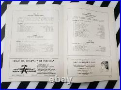 VINTAGE 30s 1936 LOS ANGELES COUNTY FAIR SOUVENIR PROGRAM MOBIL GAS OIL AD 56pgs