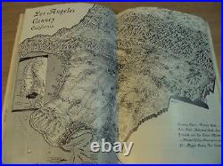 VTG 1931 TRAVEL Guide 150th Anniversary LOS ANGELES COUNTYPhotos/MAPS
