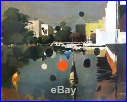 VTG Art Print Los Angeles County Art Museum Peter McIntyre Calder Mobile FRAMED