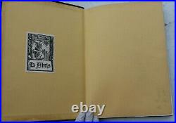 Vintage 1930-1931 Who's Who In Los Angeles County Olympic Edition Leather Cover