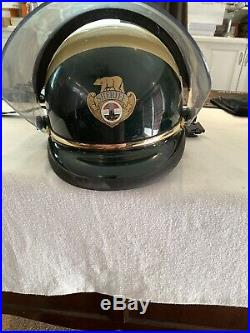 Vintage 1980-90s 1992 LA Los Angeles County Sheriff Motorcycle/Riot Helmet Lg