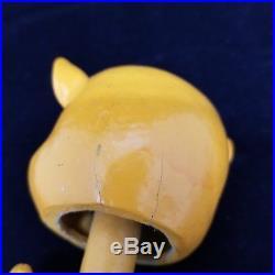 Vintage 60s Los Angeles County Fair Porky Pig Paper Mache Nodder Bobblehead RARE