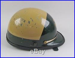 Vintage Bell California Los Angeles County Sheriff's Motorcycle/Riot Helmet