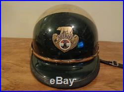 Vintage County Of Los Angeles California Sheriff Motorcycle/Riot Helmet