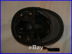 Vintage County of Los Angeles California Sheriff's Motorcycle Helmet obsolete