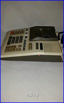 Vintage County of Los Angeles MLK Hospital Casio R-1203 Printing Calculator