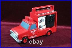 Vintage L. J. N Toys Los Angeles County Fire Dept Truck Cb Walkie Talkie 1976