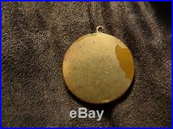 Vintage Los Angeles County Employees Association Medal Sports Around It