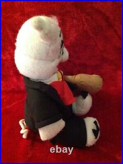 Vintage Los Angeles County Fair Thummer Pig Mascot Fan Art Toy Doll LA Pomona