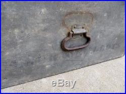 Vintage Metal General Ballot Voting Box LA County Politics Vote Los Angeles CA