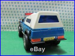 Vintage Toy Datsun Sheriff Los Angeles County Battery Operated, 32 CM