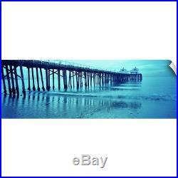 Wall Decal entitled Pier at sunset, Malibu Pier, Malibu, Los Angeles County