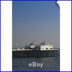 Wall Decal entitled Pier in the sea, Malibu Pier, Malibu, Los Angeles County