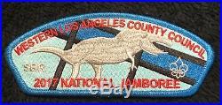 Western Los Angeles County Oa Malibu 566 2017 Jamboree Monopoly Blue 7-patch Set