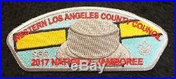 Western Los Angeles County Oa Malibu 566 2017 Jamboree Monopoly Sil 7-patch Set