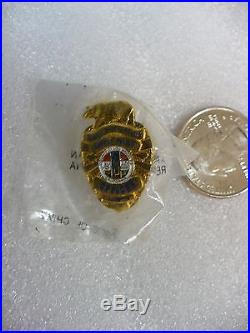Zky County Of Los Angeles Safety Police Officer Mini Badge Tie Tac (#15993)z73